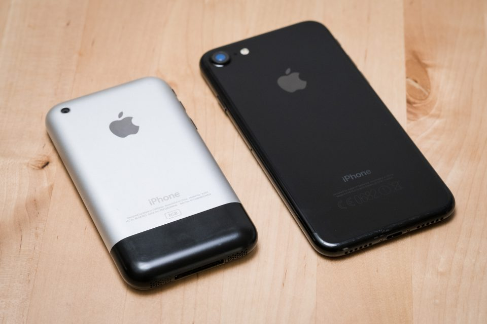10th anniversary of iPhone introduction